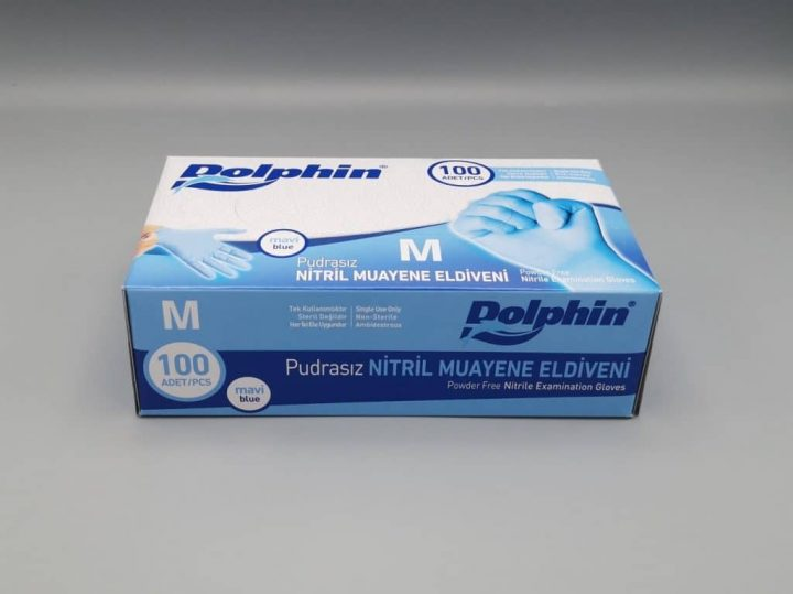 Нитрилни ръкавици Dolphin 3